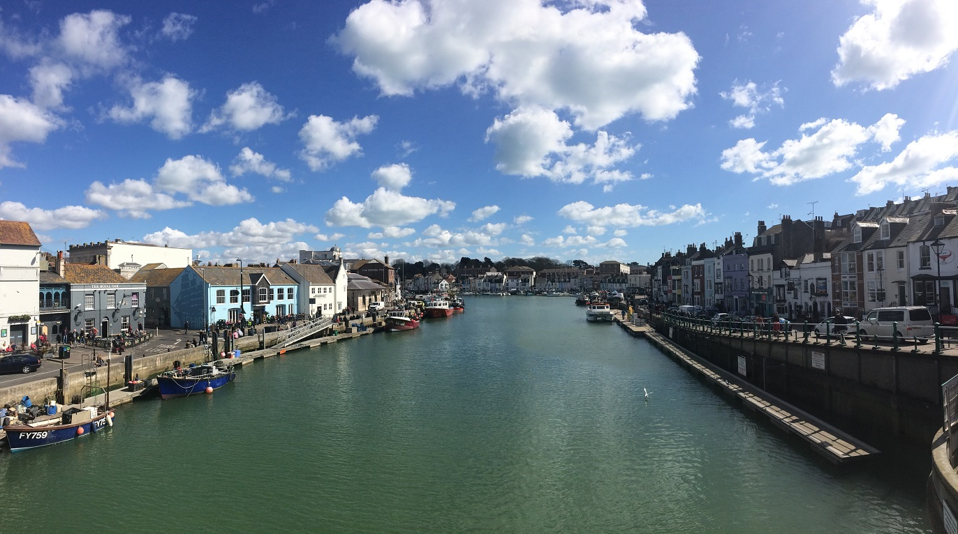 Image of Weymouth Harbour - a fishing town on the English Channel
