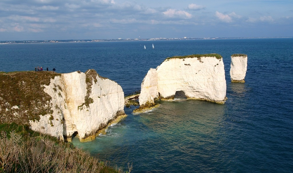 Image of Old Harry Rocks - part of the Jurassic Coast of southern England